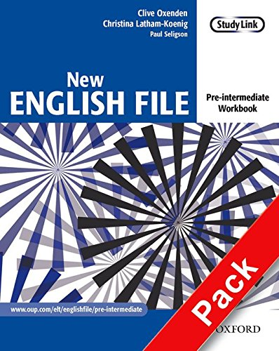 New English File Pre-Intermediate: Workbook With Answer Key and MultiROM Pack: Workbook with Answer Booklet and Multirom Pack Pre-intermediate lev (New English File Second Edition)