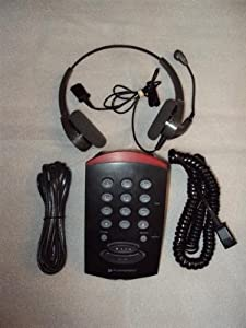 Plantronics T10 Dialer Telephone and Encore H101N Headset