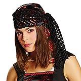 Bandana Piraten Kopftuch zum Kostüm Piratin an Karneval Fasching