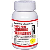 100% PURE AND NATURAL TRIBULUS TERRESTRIS EXTRACT 800 Mg 60 VEG CAPSULES (1)
