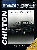Mitsubishi Galant, Mirage, and Diamante, 1990-00 (Chilton's Total Car Care Repair Manual)