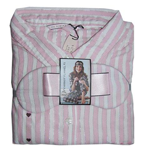 389886bb03 Victoria s Secret The Dreamer Flannel Cozy Pajama Pj s Set Free Eye Mask  (Medium