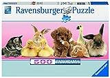 500ピース ジグソーパズル Tierische Freunde (70 x 25 cm)