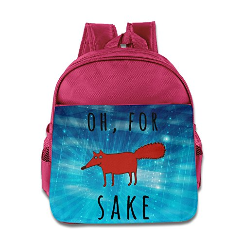 ELF STORY - For Fox Sake.PNG Little Kid Baby Boys Girls Toddler School Bag Pink (Predator Whistle compare prices)