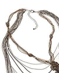 Multi-Chain Knotted Necklace