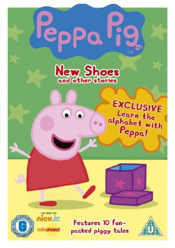 Peppa Pig - New Shoes and Other Stories (Vol 3) [DVD]