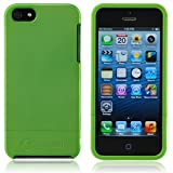Splash Cruiser Slim-Fit Polycarbonate Slider Case for iPhone 5 -Green