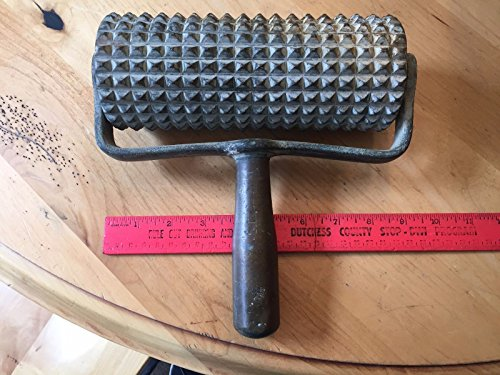 vtg-fh-crafts-rochester-cement-texturizer-indent-roller-metal-handle-oat-crusher