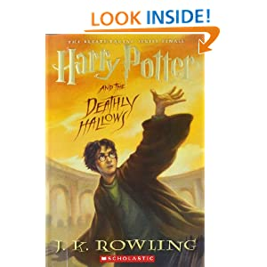 amazon  harry potter and the deathly hallows book 7