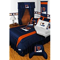 CHICAGO BEARS 5PC QUEEN BEDDING SET Boy Football NFL bag