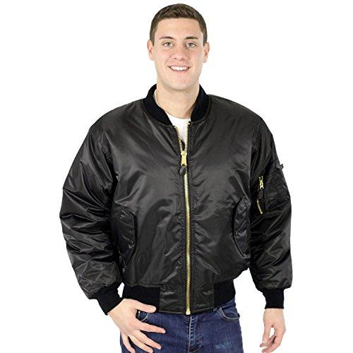 Black MA-1 Flight Jacket (3X-Large) fc11a6756f3