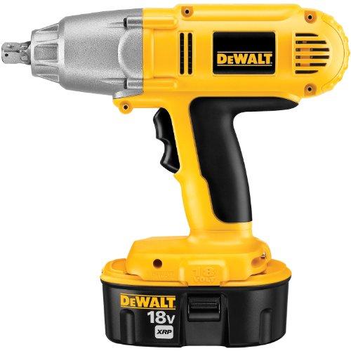 DeWALT DW059K-2 18-Volt Ni-Cad 1/2-inch Cordless Impact Wrench Kit