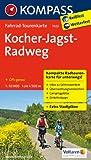 Kocher-Jagst-Radweg 1 : 50 000 (KOMPASS-Fahrrad-Tourenkarten)