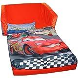 Marshmallow Fun Furniture Flip Open Sofa With Slumber Attachment: Cars Theme