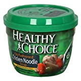 51YLpUoH9vL. SL160  Healthy Choice Microwave Chicken Noodle Soup, 14 Ounce(Pack of 12)