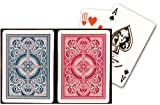 KEM Arrow Red and Blue Poker Size Standard Index Playing Cards