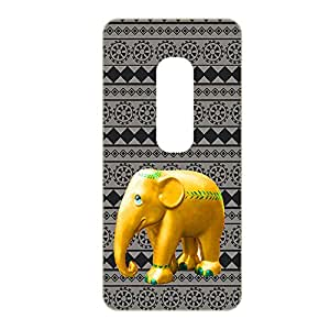 Vibhar printed case back cover for Coolpad Note 3 PatternHathi