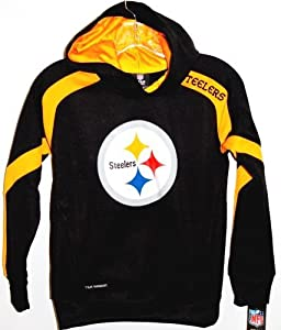 NFL Pittsburgh Steelers Youth Gameday Synthetic Hoodie Sweatshirt by G&S