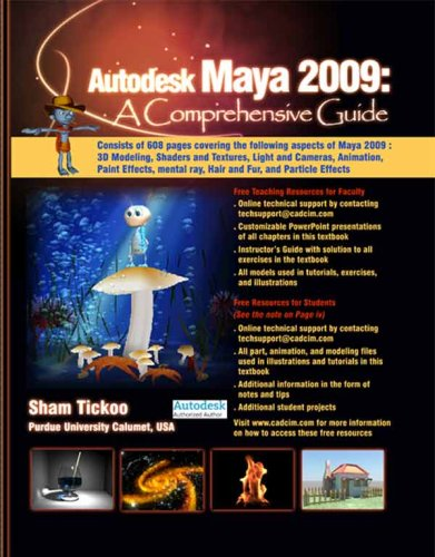 3D Book Autodesk Maya 2009: A Comprehensive Guide