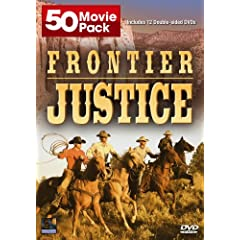 Frontier Justice 50 Movie Pack by Roy Rogers,&#32;Gene Autry,&#32;Buster Crabbe,&#32;Randolph Scott and Ken Maynard