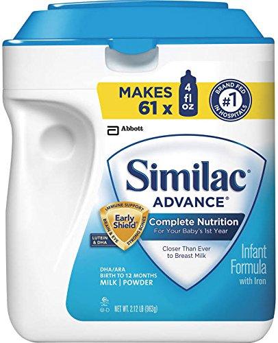 Similac Advance Baby Formula - Powder - 34 Oz - 3 Pk
