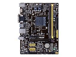 Asus mATX DDR3 1600 AMD Socket AM1 SATAII (6Gbit/s)  Motherboard (AM1M-A)