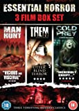 The Essential Horror Boxset (Them, Manhunt & Cold Prey) [DVD]