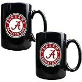NCAA Two Piece Black Ceramic Mug Set