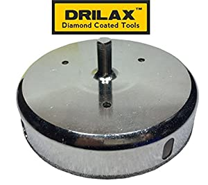 Drilax Diamond Coated Hole Saw Ceramic Porcelain Tile