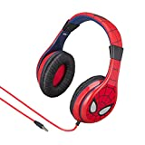 Spiderman Headphones for Kids with Built in Volume Limiting Feature for Kid Friendly Safe Listening
