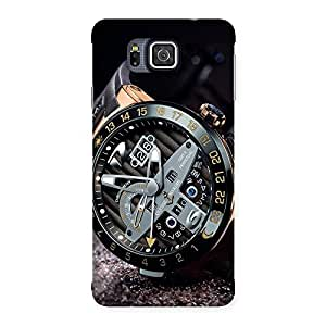Impressive Watch Cool Multicolor Back Case Cover for Galaxy Alpha