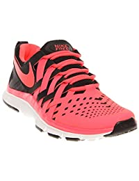 Nike Mens Free Trainer 5.0 10 M US Black/Atomic Red