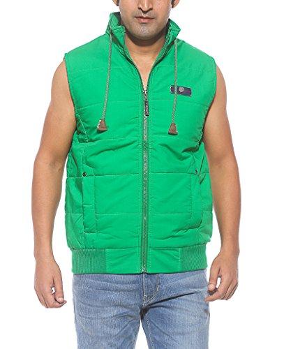 Spykar Men Cotton Green Regular Fit Jackets