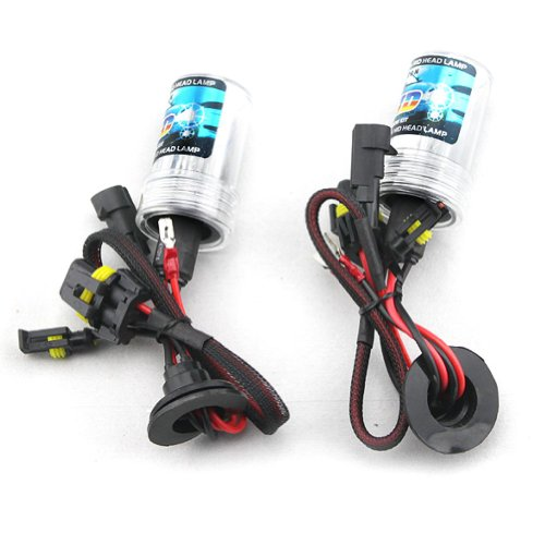 Car HID Xenon Single Beam Lights Bulbs Lamps H7 4300K Sunlight White (12V,35W) – 1 Pair