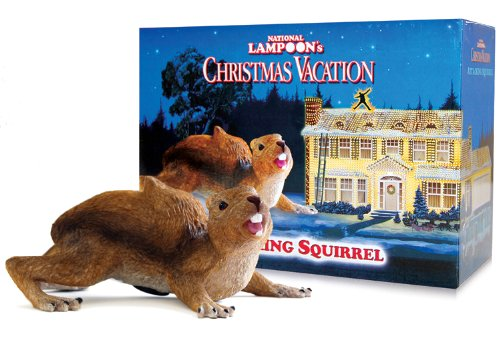 christmas vacation attacking squirrel w motion sensor and sound