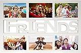 Empireposter - Collage Bilderrahmen Friends - Kunststoff...