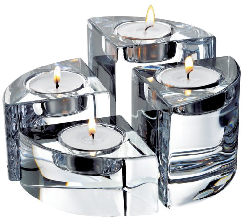 Orrefors Quartet Set Of 4 Votives