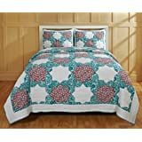 Be-you-tiful Home CC727T Esha Jaipuri Printed Quilt Set Twin