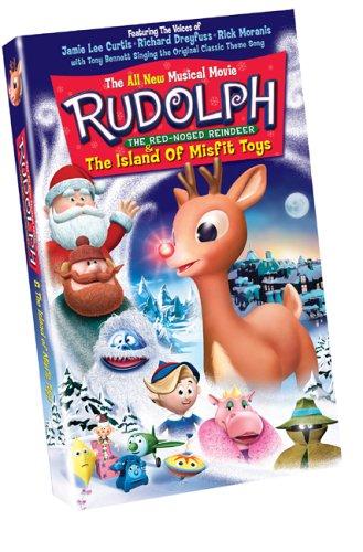 Rudolph & Island of Misfit Toys (Slip) [VHS]