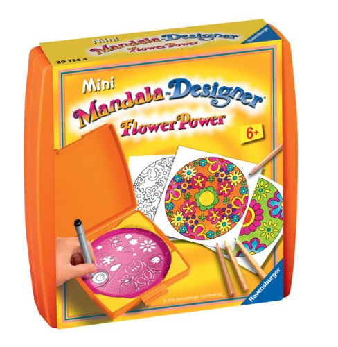 Ravensburger Mini Mandala Designer Flower Power