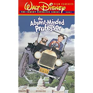 Amazon.com: The Absent-Minded Professor (Colorized) [VHS]: Fred ...