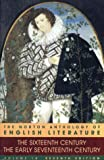 The Norton Anthology of English Literature Vol. 1 : 16th/17th Century (0393975665) by Abrams, M. H.
