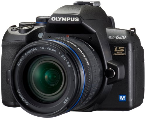 Olympus E-620 Digital SLR Camera (14-42mm Lens Kit)