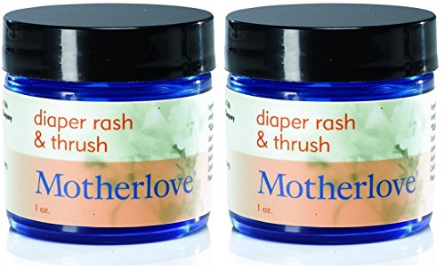 Motherlove Diaper Rash & Thrush Salve - 1 Oz. (2 Pack) - 1