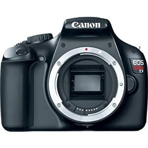 Canon EOS T3 12.2 MP Camera