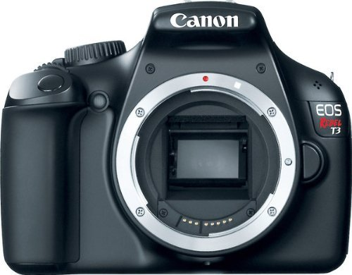 Canon EOS Rebel T3 12.2 MP CMOS Digital SLR Camera and DIGIC 4 Imaging, Body only (Same as EOS 1100D and Kiss X50)