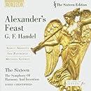 Handel - Alexander's Feast / Argenta, Partridge, George, The Sixteen, Christophers