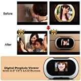 2.5 Inch Digital Peephole Viewer wireless-cammera with TFT LCD Screen & 2.0 MP CMOS Sensor