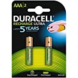 Duracell Recharge Ultra AAA 850 mAh Piles Rechargeable x2