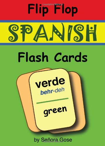 Flip Flop Spanish Flash Cards: Verde (Cards)